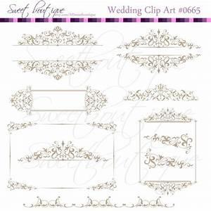 wedding invitation vintage calligraphy clip art clipart With wedding invitation text divider