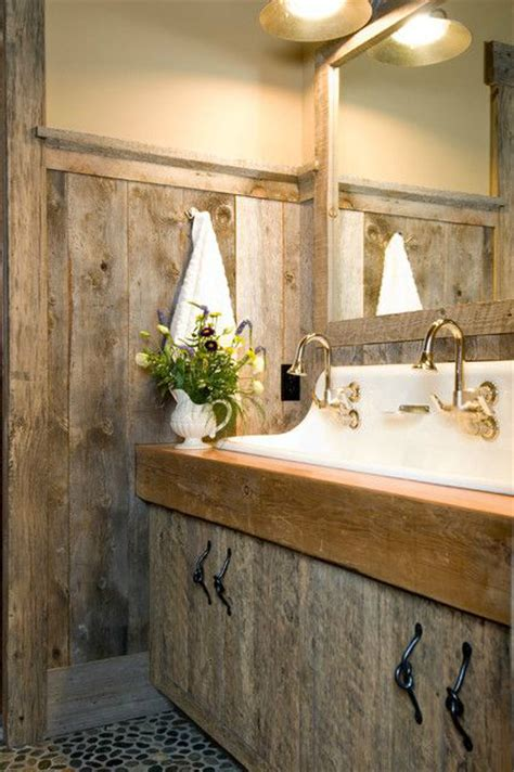 bathroom decor 20 rustic bathroom designs 5 diy crafts you home Cabin