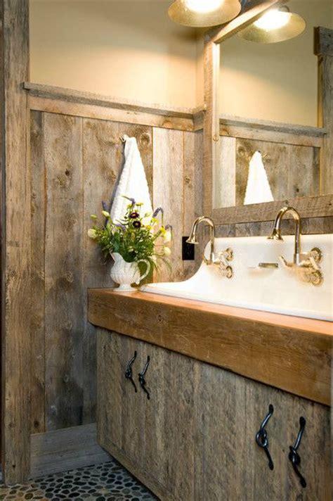 20 Extra Rustic Bathroom Designs 5  Diy Crafts You & Home