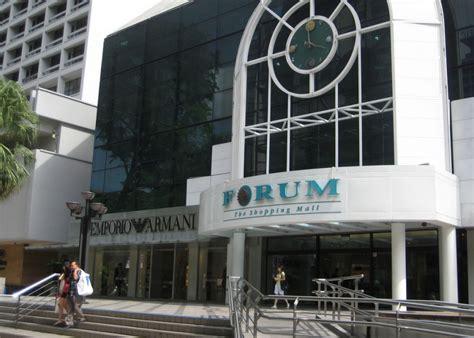 forum the shopping mall singapore cityseeker