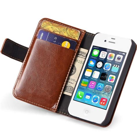 iphone 4s wallet iphone 4 4s leather wallet pdair 10 free vintage 4s wallet flip cover pu leather for iphone 4