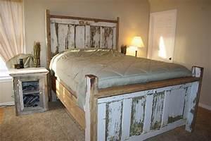 Reclaimed, Rustics, Vintage, Door, Headboard