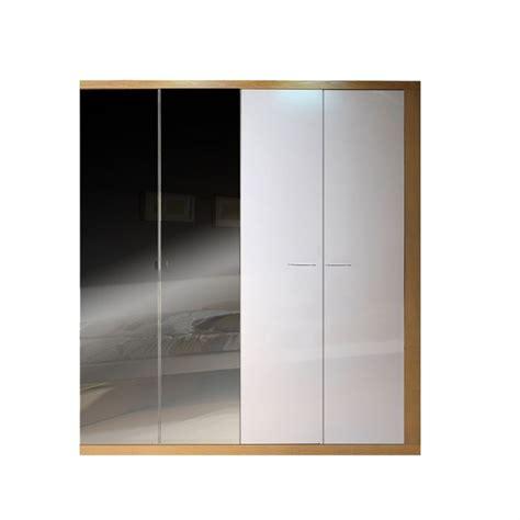 armoire de chambre woodao 4 portes avec miroirs pictures