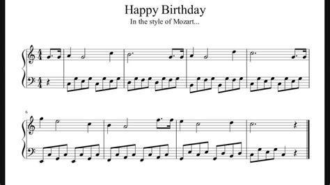 Amazing grace with free sheet music. Happy Birthday - Mozart Style - Easy Piano Sheet Music (No Audio) - YouTube
