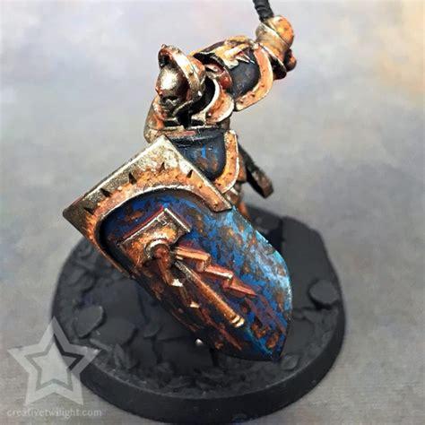 rust effect damage battle painting paint weathering miniatures miniature tutorial conclusion painted creativetwilight