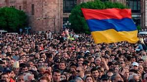 Tens of Thousands of Armenians Shut Down Capital in Show ...