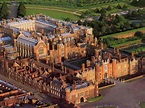 Hampton Court, England, where Henry the VIII once stayed ...