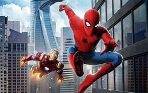 Spider Man Homecoming Iron Man HD Wallpapers