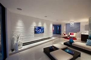 Wohnzimmer Farbe Gestaltung : wohnzimmerwand ideen ~ Markanthonyermac.com Haus und Dekorationen