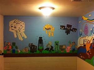 Minecraft Mural - Other Fan Art - Fan Art - Show Your