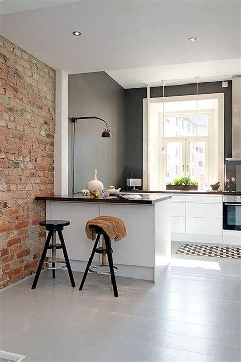 small kitchen colour ideas დეკორატიული და ნატურალური ქვა ინტერიერისათვის inndesign