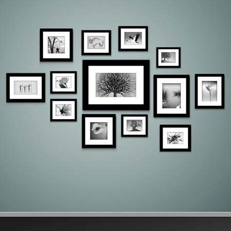 Wandgestaltung Mit Bilderrahmen by Wandgestaltung Bilderrahmen