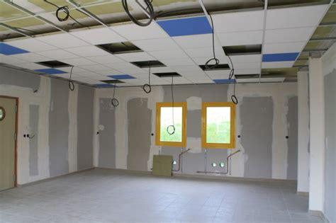 faux plafond cuisine professionnelle point sur les travaux 183 mairie semur en brionnais infos