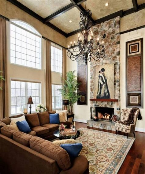 Decorating Ideas For Living Room With High Ceilings 16 outstanding ideas for decorating living room with high
