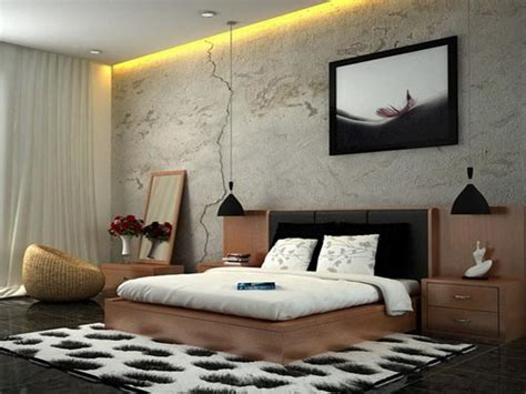 relaxing interiors styles  bedroom modern