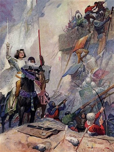 the siege of orleans joan of arc joan of arc 39 s day victory in orleans