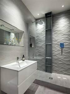 carrelage salle de bains glamour salle de bain carrelage With salle de bain decoration interieure