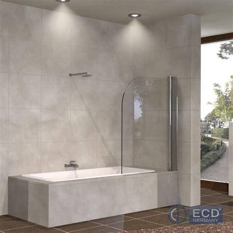 parete doccia vasca da bagno vetro regolabile di separazione 80 x 140 cm doccia a