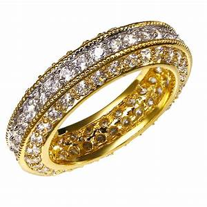 aliexpresscom buy new cz bridal wedding rings deluxe With real gold wedding rings