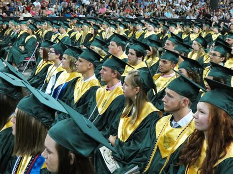 graduation ceremonies saturday june broadbent arena