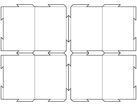 trading card game template   printable
