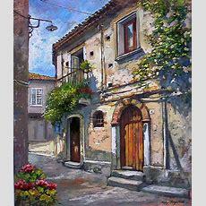 """Imágenes Arte Pinturas """"galería"""" Cuadros De Paisajes Coloniales, Pinturas De Francesco Mangialardi"""