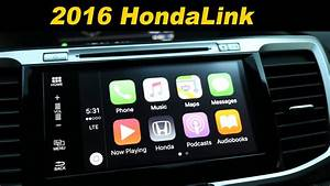 2016 Honda Accord Infotainment Review