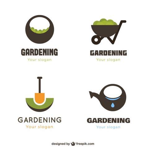 Geometrische Garten Logos  Download Der Kostenlosen Vektor