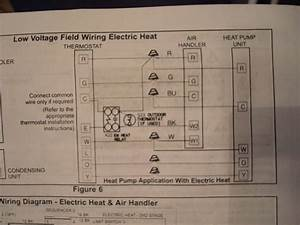 I Have A Honeywell Th4000 Series Thermostate Need To Know How To Wire To A Goodman Heat Pump