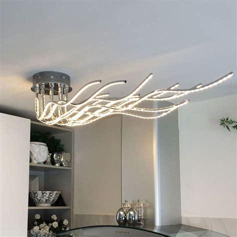 wohnzimmer deckenleuchte led licht trend deckenleuchte 187 sculli led mit metallarmen 171 kaufen otto
