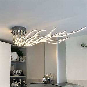 Design Deckenleuchte Led : licht trend deckenleuchte sculli led mit metallarmen online kaufen otto ~ Orissabook.com Haus und Dekorationen