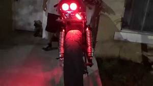 Led Tail Brake Light Motorcycle Universal Led Strip Honda