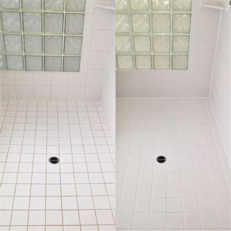 shower color sealing bright white northwest grout works