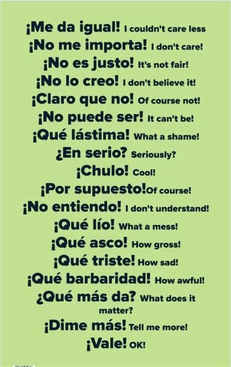 Pin by Fátima on Vocabulario   Learning spanish vocabulary ...