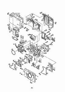 Canon Powershot S20 Parts Service Manual Download  Schematics  Eeprom  Repair Info For