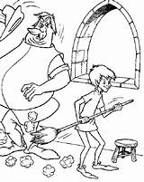 Coloring Wizard Sword Stone Merlin Colo Popular Library Clipart Coloringhome Colouring sketch template