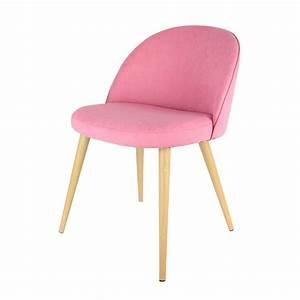 Fauteuil Rose Scandinave : fauteuil scandinave vintage rose les douces nuits de ma linge de maison ~ Teatrodelosmanantiales.com Idées de Décoration