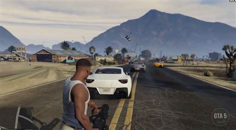 Gta 5 Pc Mods Let You Shoot Cars Instead Of Bullets