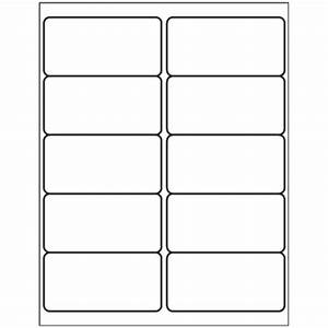 fax cover sheet template With avery 2x4 label template