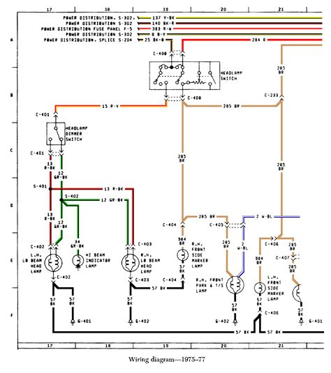 Ford Bronco Wiring by Early Bronco Wiring Diagram Volovets Info