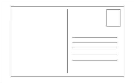 postcard address template word 26 postcard templates free pdf psd png format
