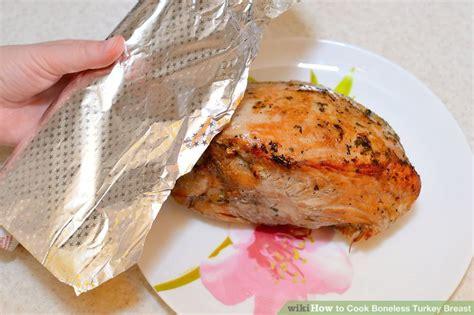 how to cook boneless 3 ways to cook boneless turkey breast wikihow