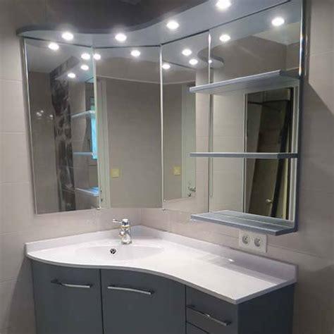 meubles salle de bain plan en r 233 sine vasque moul 233 e atlantic bain