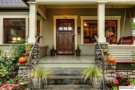 craftsman style porch a craftsman bungalow in oregon