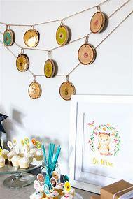 Woodland Baby Shower Decorations DIY