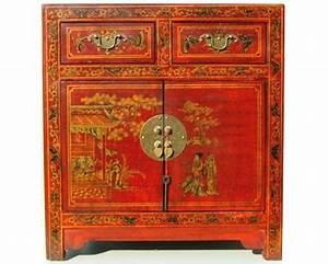 Meuble Deux Portes : petit meuble deux portes deux tiroirs chinois style cit xian collections collection cit xian ~ Teatrodelosmanantiales.com Idées de Décoration