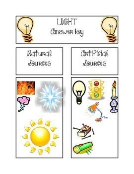 light sort    images light energy activities