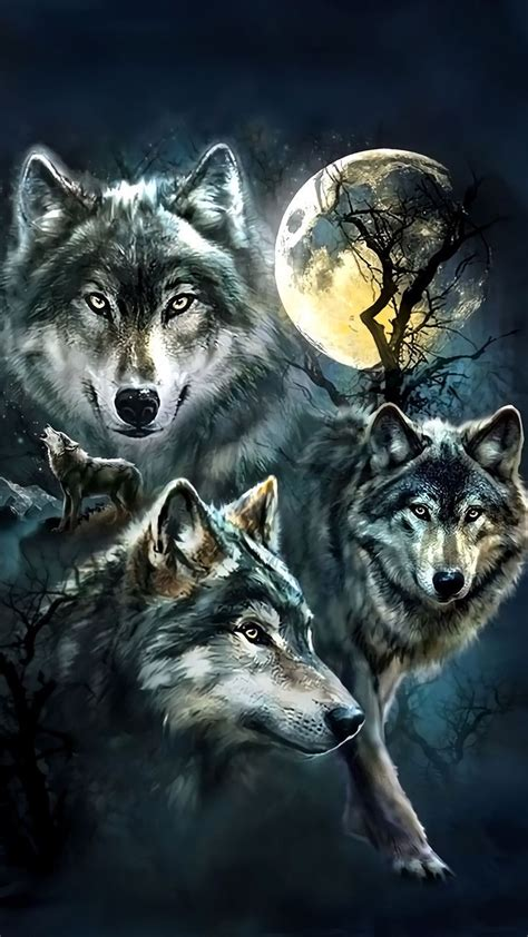 Wolf Wallpaper For Iphone 11 by Wolf Wallpaper For Iphone 2019 3d Iphone Wallpaper