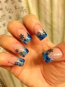 Pretty christmas nail art ideas designs