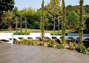 amenagement jardin contemporain aix en provence With beautiful amenagement de piscine exterieur 12 parc